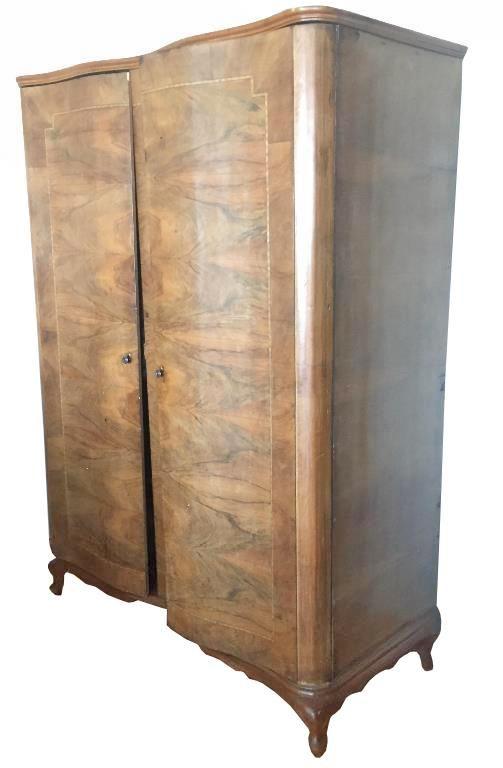 Masif ceviz retro vintage antika dolap - Dekopasaj.com - dekopasaj.com