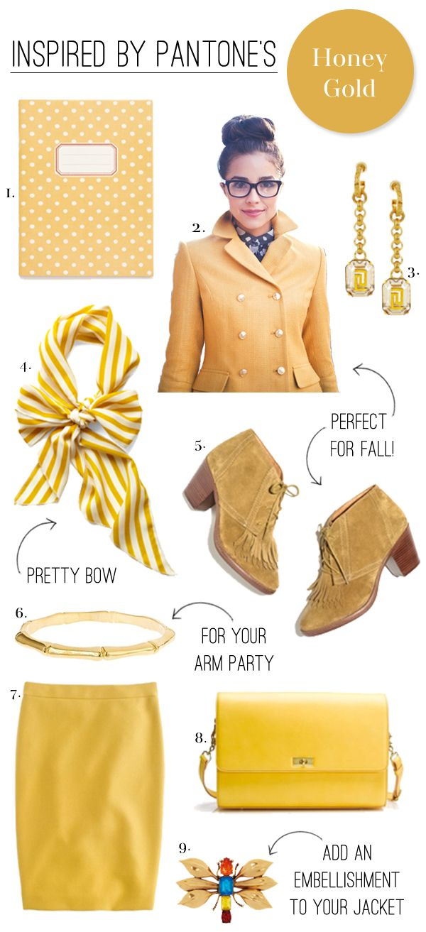 OK, so all on one page, it's awfully yellow, but...the shoes. The bag. The skirt. The scarf. Etc. Mostly the shoes.   Two Penny Blue www.2pennyblue.com: Gold Rush, But The Shoes, Fab Fashion, Honey Gold, Pantone S Honey, Blue Www 2Pennyblue Com, Penny Blue