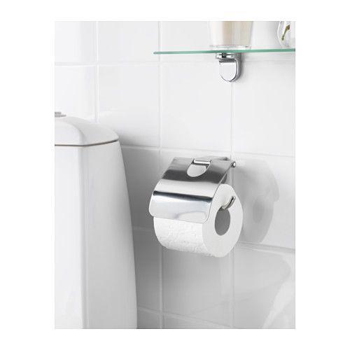 KALKGRUND Toilet roll holder, chrome plated - chrome plated