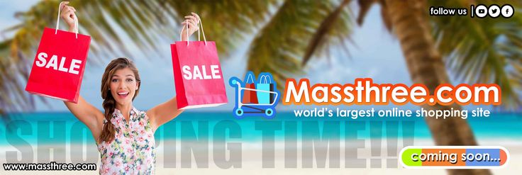 #Massthree made #shopping easier. Shopping Time!! Just #Shop!!  #StayTuned #OnlineShop #Clothing #FashionAccessories #Footwear #Electronics #Gifts #Sports #Appliances #EcommerceSite #FollowUs- fb.me/MassthreeEshopPvtLtd