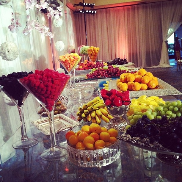 Marvelous Fruit Buffet   Re Post From Chef Chloe Coscarelli On Facebook I LOVE THE  BERRIES
