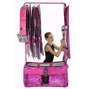 Pack 2 Rack Rolling Foldable Dance Bag Dance Bags