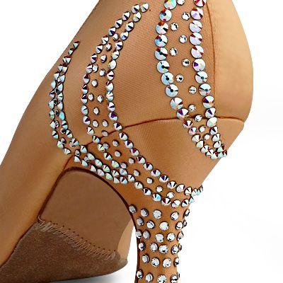 BeSparkle Crystallized Design SH551   Dancesport Fashion @ DanceShopper.com
