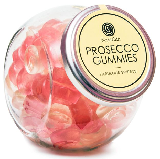 A container of delicious gummies that taste like fizzing Prosecco.   29 Gifts That Will Trick People Into Thinking You're Fancy