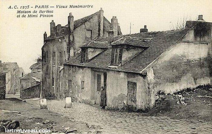 Maison de Berlioz et de Mimi Pinson (détruite)