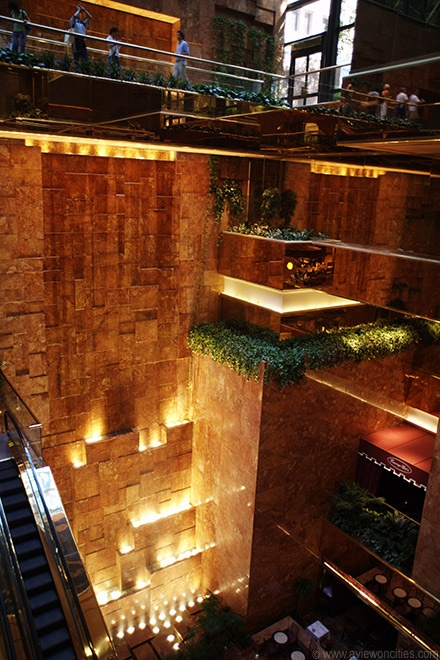 Trump Tower, manhattan midtown, I have been on that escalator and seen that waterful