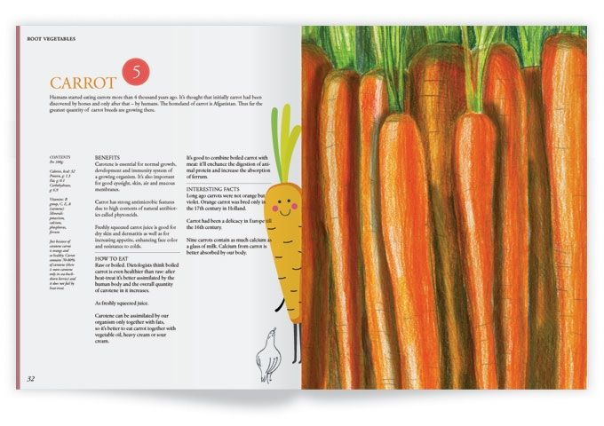 What we eat. Design book about healthy food. by Cuberox — Kickstarter