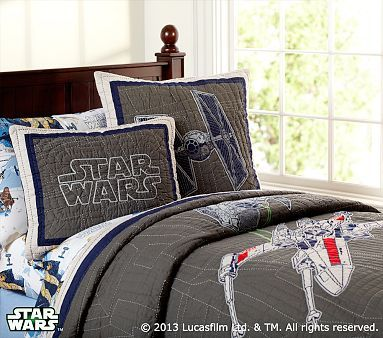 Star Wars x-wing & TIE Fighter Quilted Bedding