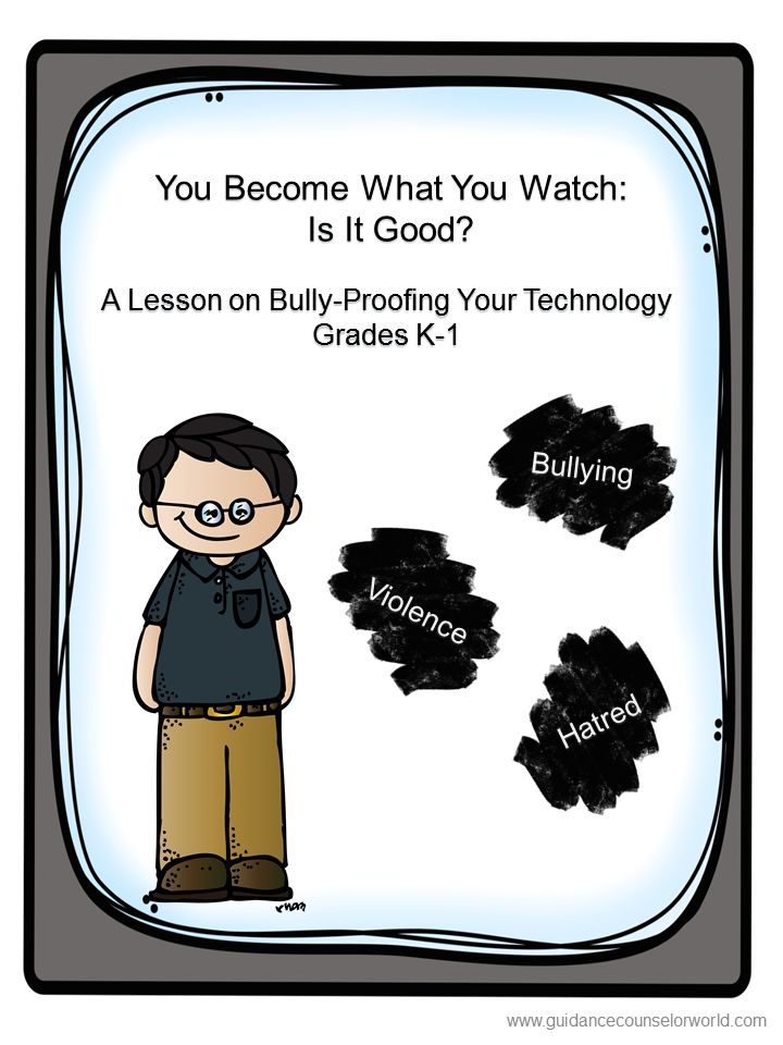 Guidance lesson on Social Interactions, for Grades K-1.Teach your students how to be aware of the dangerous pitfalls of technology, and how to make good choices with technology. NEVER create another guidance lesson again with our aligned K-6 guidance lessons! We've got more GUIDANCE LESSON Plans, all which are aligned for grades K-6! Each lesson plan has a Word doc for each grade level and a PDF that includes all interactive activities and printables. Bullying | Elementary Guidance Lessons