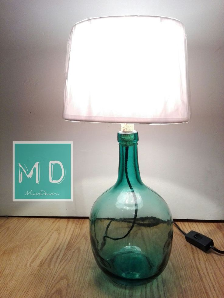 Lamp With Bottle 275 best DIY Lighting