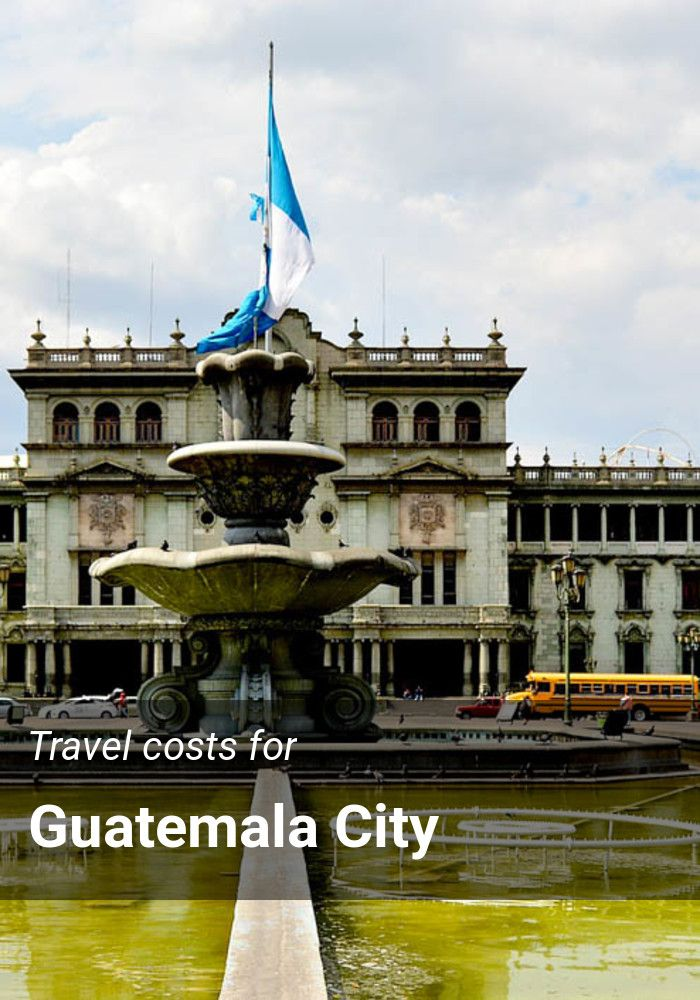 Travel costs for Guatemala City