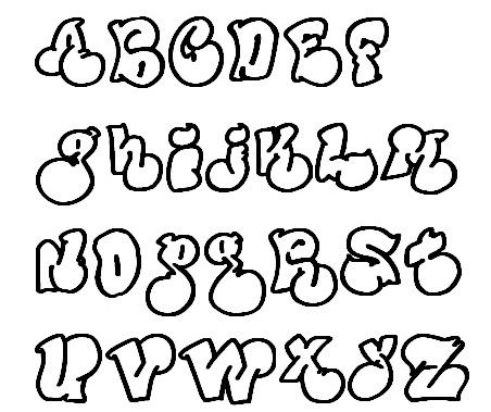 Lettering Styles Font Styles Hand Lettering Bubble Letter Fonts