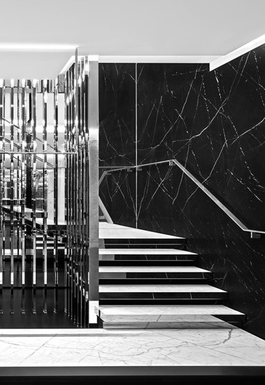 Saint Laurent new flagship store av. Montaigne in Paris by Hedi Slimane _