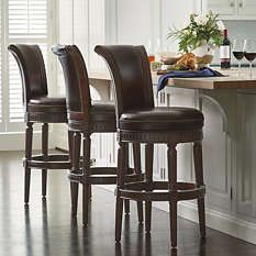 Kitchen Furnishings - Dining Tables - Dining Arm Chairs - Sturdy Swivel Stools - Frontgate