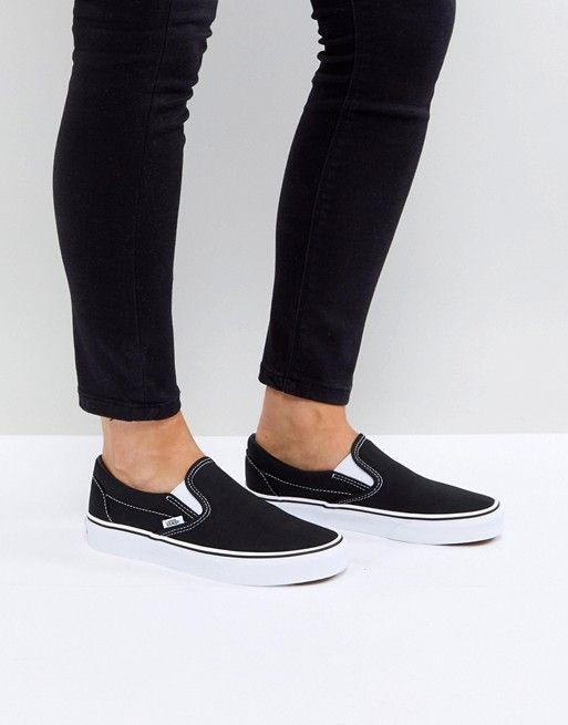 Vans Classic Slip-On black sneakers