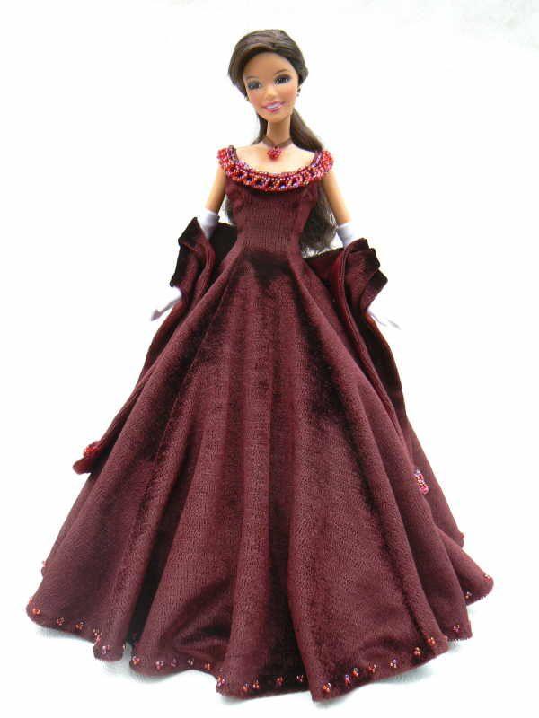 barbie выкройка - клик на strih внизу