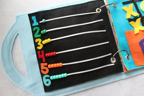 Learn to Count - a single page to add to your customizable book. Learn to count with colorful beads! Available in the rainbow style- (also a great…