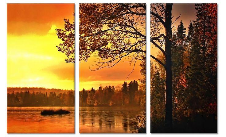 52 beste afbeeldingen van canvas schilderijen landschappen for Schilderij natuur