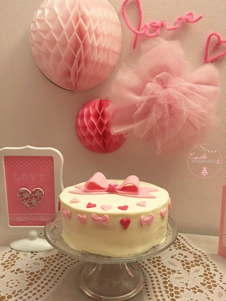 Love Cake Surprise Vanille Myrtille ♥ Valentines Week ♥