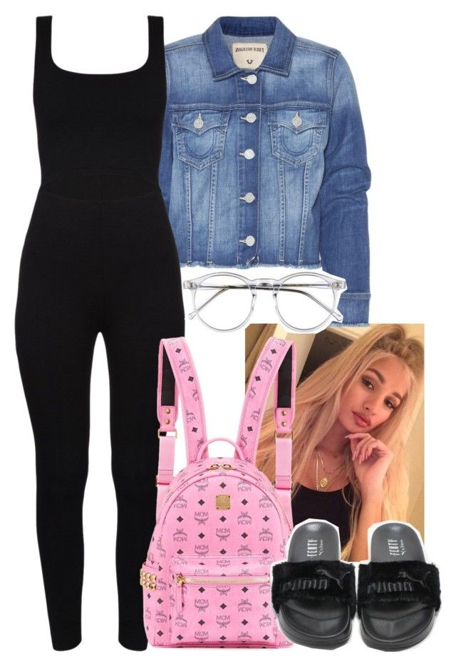 """""""Told You- Famous Dex"""" by ssophiiia ❤ liked on Polyvore featuring True Religion, MCM, Puma and Wildfox"""