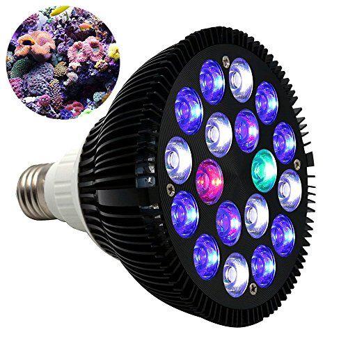 LOOK:  KINGBO 18W LED Aquarium Light Bulb PAR38 E27 6