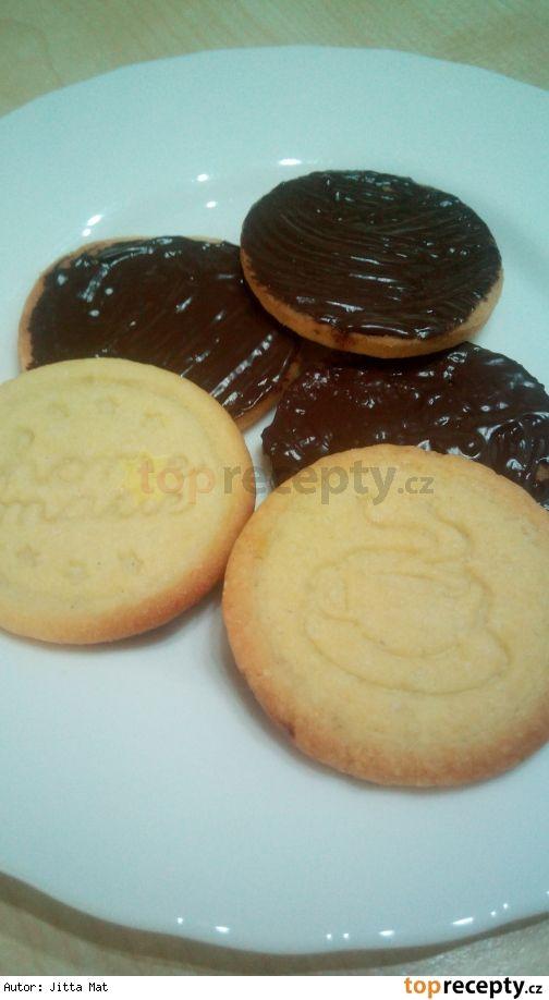 Polomáčené sušenky jako Zlaté