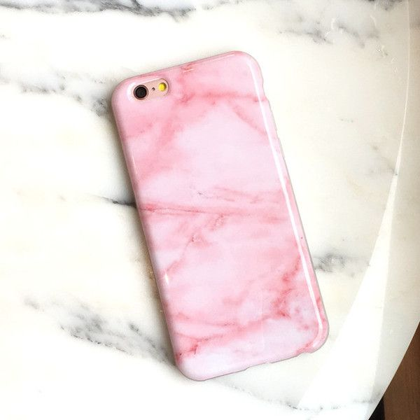 marbls iphone 7 plus case pink