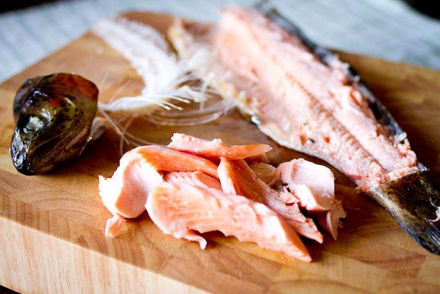 Smoked whole trout ... oh my goodness I have to try this recipe ...