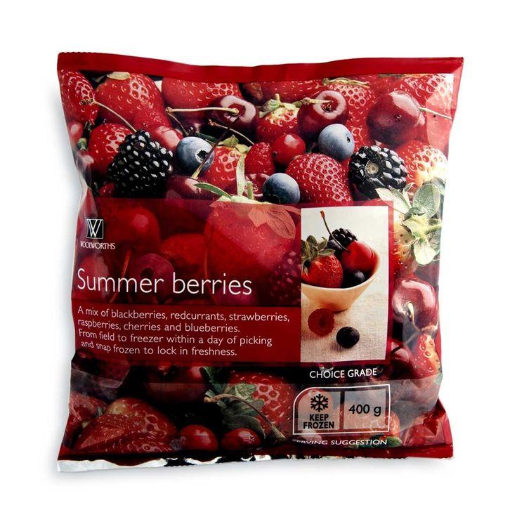 Frozen Summer Berries 400g