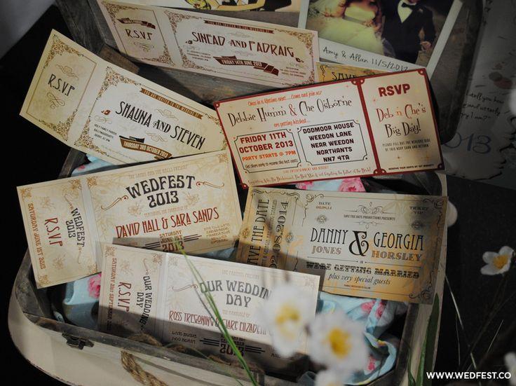 WEDFEST Vintage Chic Wedding Stationery | WED FEST