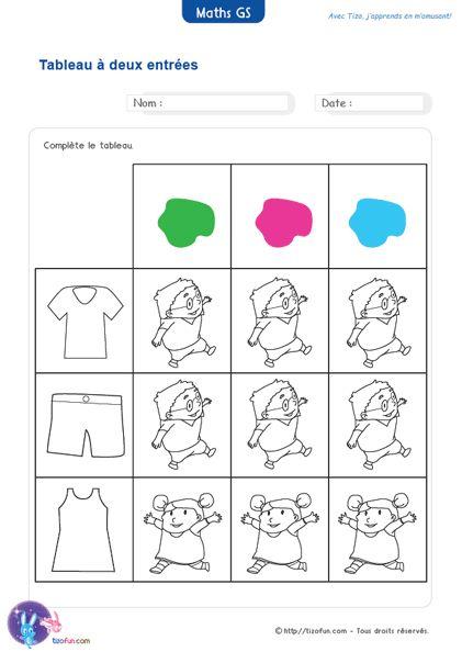 Math matiques maternelle grande section fiches pdf a - Petits plats pour grandes tablees pdf ...