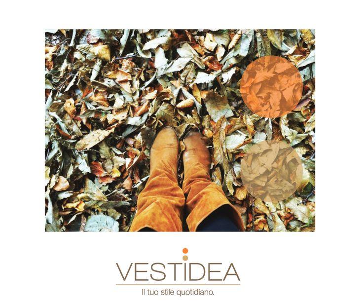 Lo stile #Vestidea del tempo libero #fw16:  Un paio di #stivali di camoscio, una passeggiata nel parco e la testa tra le nuvole! #stilequotidiano