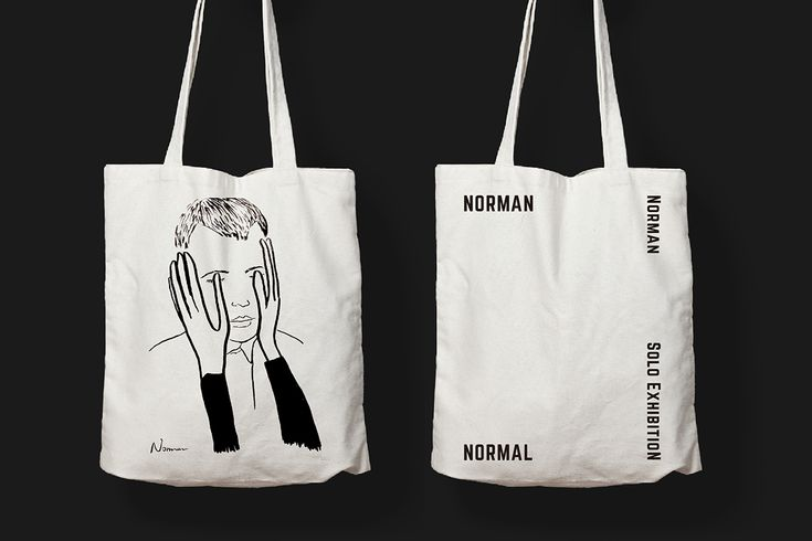 Norman Normal Solo Exibition on Behance