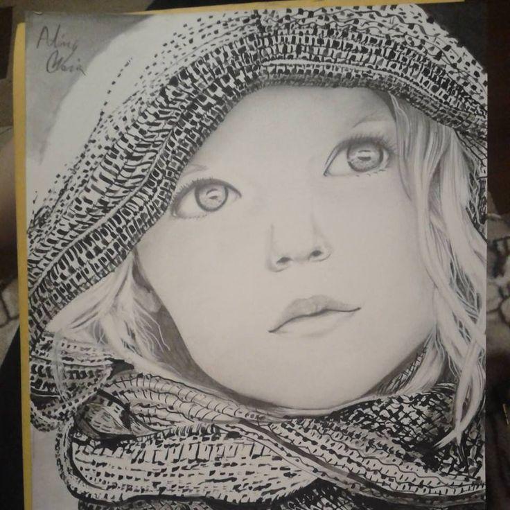 Portrait drawing.Hope you like it