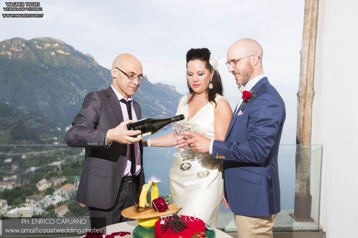 an elopement wedding in ravello amalfi coast italy