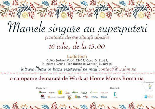 "Asociatia Work At Home Moms relanseaza programul ""Mamele singure au superputeri"", prin intermediul caruia oferim consiliere mamelor din segment vulnerabil."