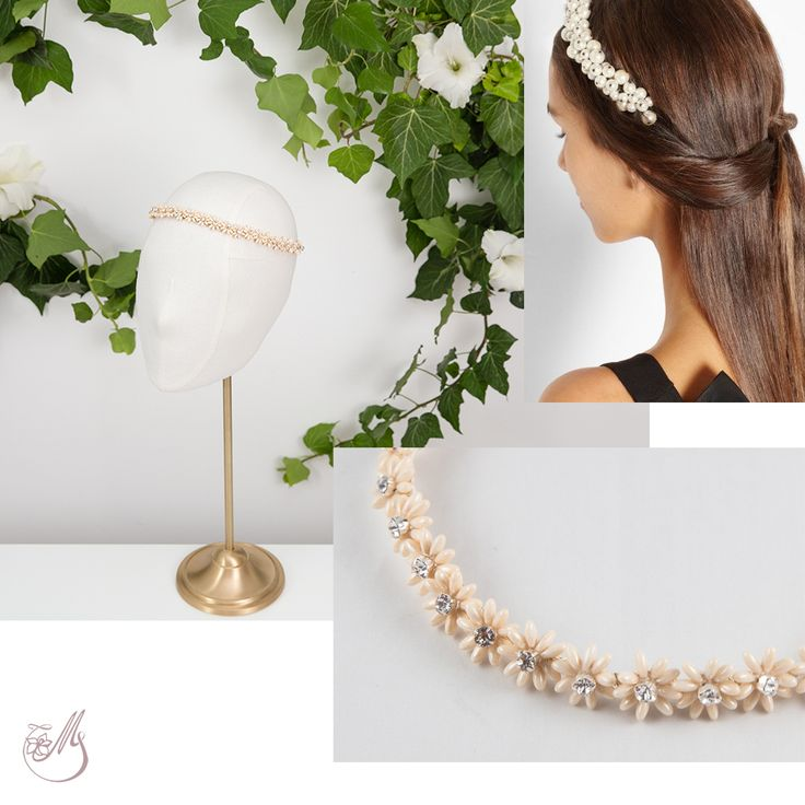 A delicate #headband could be the one thing you need to make your outfit shine. #maccessories #fashion #handmade #unique #beads