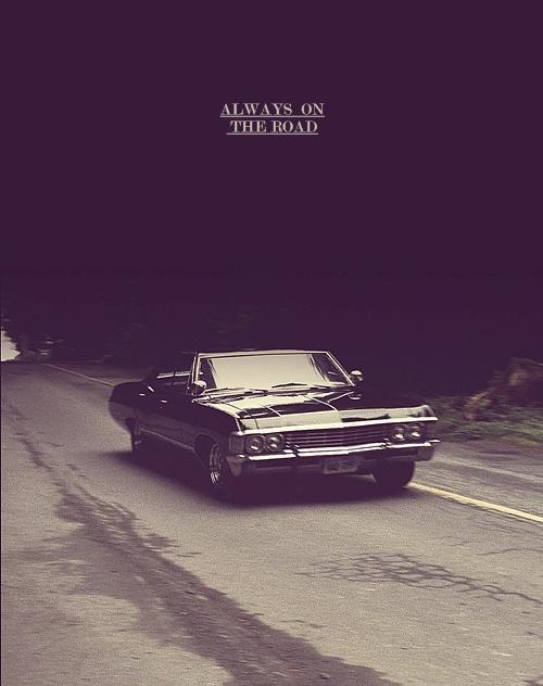 Dean Winchester's '67 chevy impala