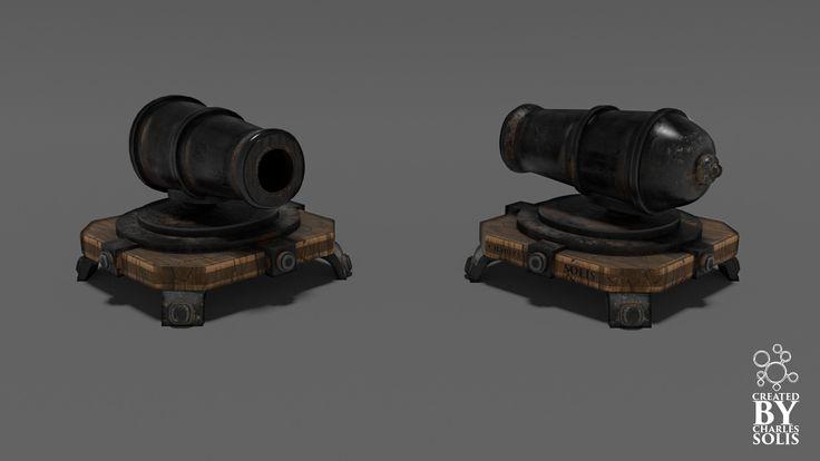 3D Cannon Clash Clans - 3D Model