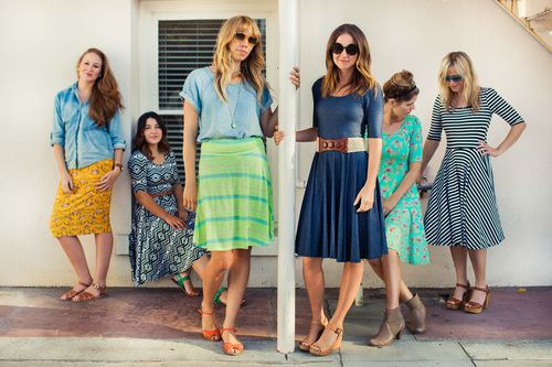 fancy lularoe spring outfits 12