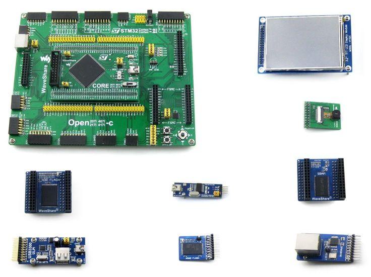 STM32 Board STM32F407IGT6 ARM Cortex-M4 STM32 Development Board + PL2303 USB UART Module+ 3.2inch LCD= Open407I-C Package A