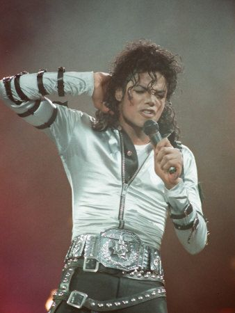 Michael Jackson - bad concert at Wembley 1997. I've seen this concert about a billion times . . . I have the order of the songs and where he's walking on the stage . . . Everything memorized