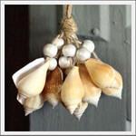 sea shell tasselGuest Room, Beach House, Sea Shells, Seashells Tassels, Beach Decor, Beach Shells, Seaside Inspiration, Seashells Christmas, Beach Room