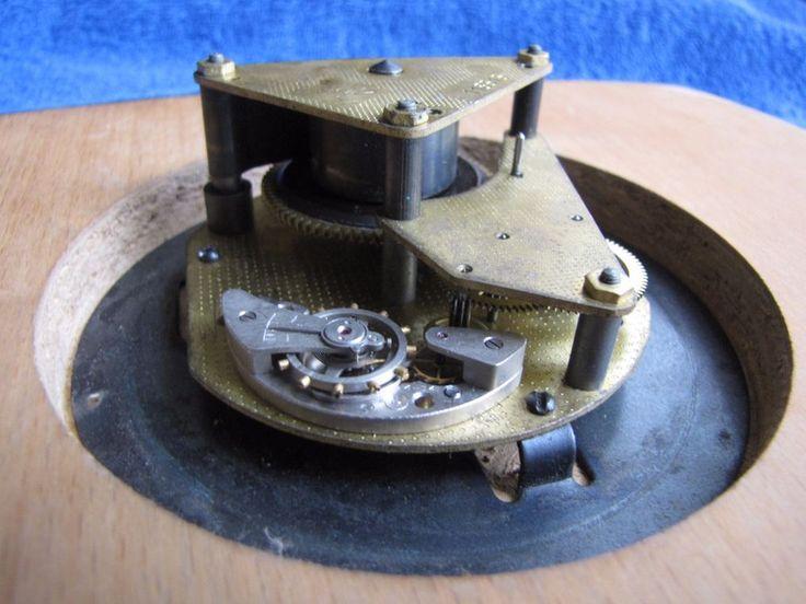 USSR Soviet Majak wall clock mechanical old Russian Vintage Watch GOST 3309-65