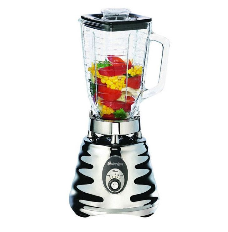 Medium image of oster 4655 chrome 3 speed blender 220 240 volts 50hz export only