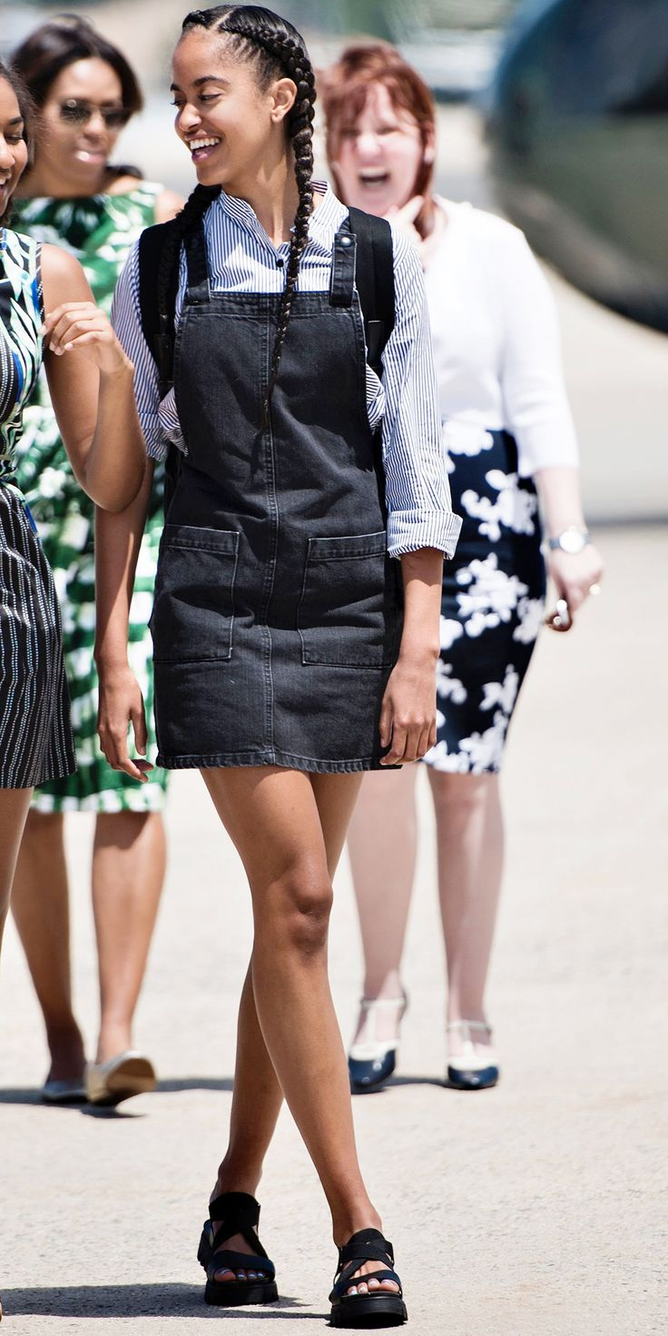 It's Malia Obama's 18th Birthday! See Her Incredible Style Evolution - 2016 from InStyle.com