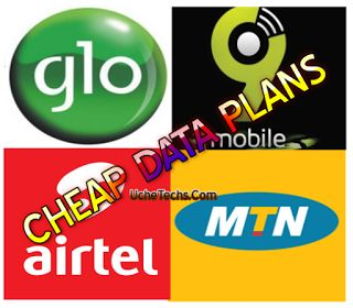 Affordable Data Plans on MTN, Airtel, Glo and 9Mobile