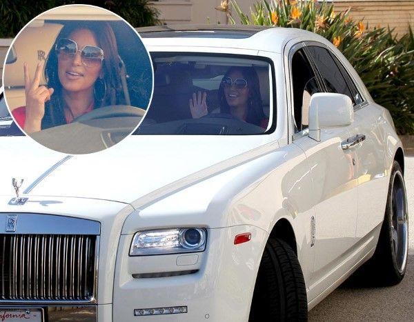 Rolls-Royce Ghost (© Rex Features)