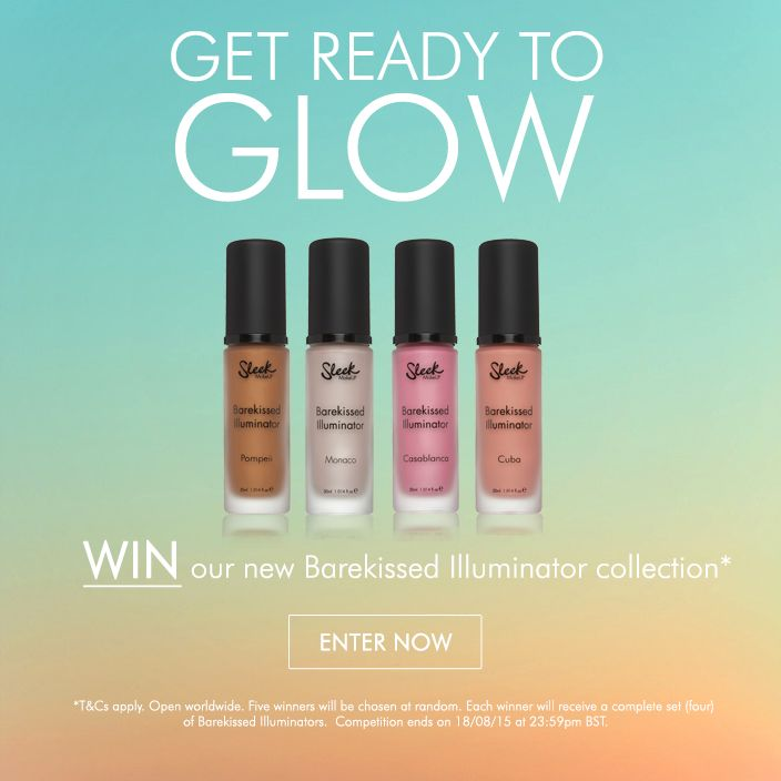 WIN our brand new Bare Kissed Illuminator by entering our competition. 5 winners will be chosen at random.