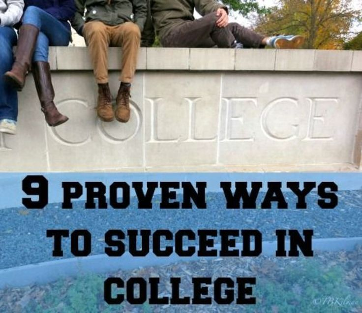 How to Succeed in College - 9 studies that show you how to make the most of 4 years.
